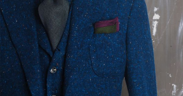 Farb- und Stilberatung mit www.farben-reich.com # That blue tweed! | See more about Tweed, Suits and Blue.