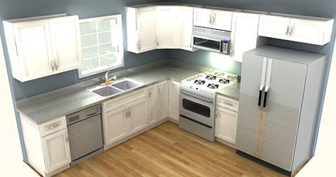 Discount Shaker White Cabinets Kitchen Design Kitchen Remodel Layout Kitchen Remodel