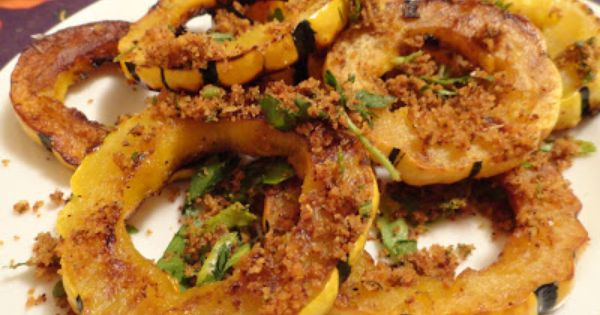 "The ""V"" Word: Sauteed Delicata Squash Rings 