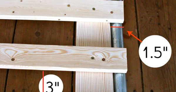 Ana White Build Pipe And Wood Slat Bed Free Easy