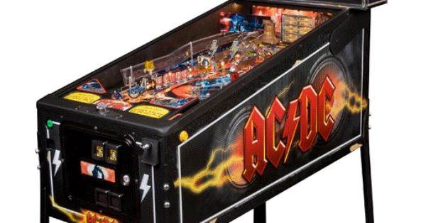 ac dc pinball machine for sale