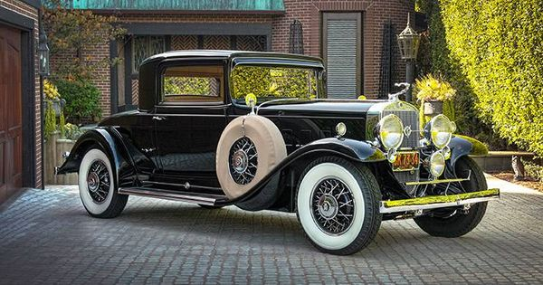 1931 Cadillac 370a 2 Door Rumbleseat Sport Coupe V 12