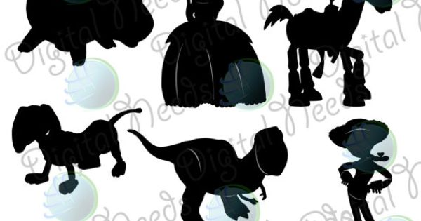 10 Toy Story Silhouettes Png And Source Files By