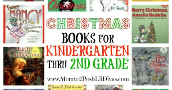 Mom to 2 Posh Lil Divas: 12 Christmas Books for Kindergarten thru