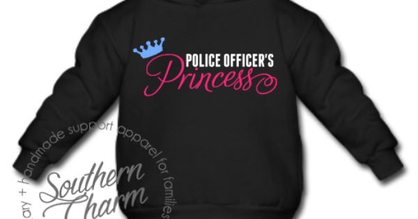 Southern Charm Designs Police Officer 39 S Princess Toddler