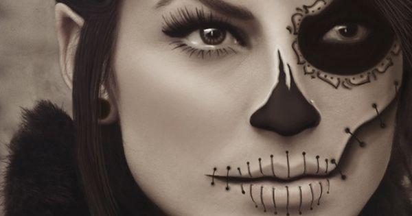 La máscara sobre la persona dibujar más