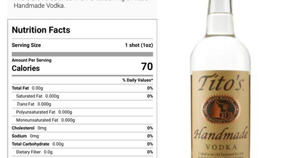 Tito S Vodka Vodka Calories Vodka Vodka Bottle