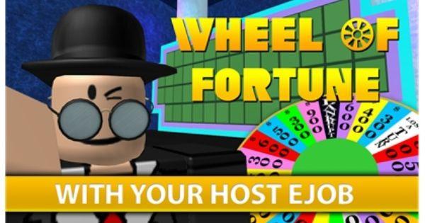 Wheel Of Fortune Roblox Wheel Of Fortune Fortune Roblox