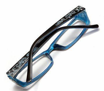 إطار زهرة الماس الأزرق الأنثوي طويل النظر نظارات قراءة نظارات 1 0 1 5 2 0 2 5 3 0 3 5 4 0 Nail Clippers Eye Care Beauty