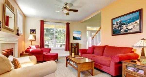 تصميم غرفة جلوس رحبة ومضيافة مع الفنغ شوي Living Room Red Summer Living Room Beautiful Living Rooms