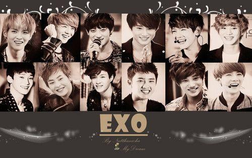 Exo Wallpaper Exo Exo Wallpaper Hd Laptop Wallpaper Desktop Wallpapers Exo Wallpaper laptop exo kartun hd