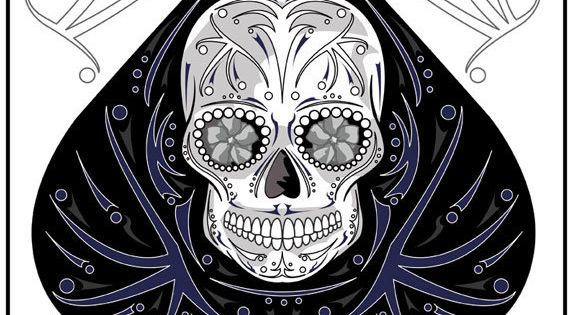 Ace Of Spades The Perfect Sugar Skull Card For Your Game