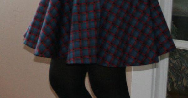 womens sewing pattern circle skirt printable pattern pdf