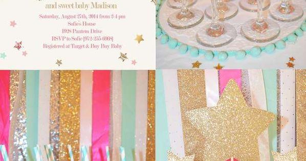 Twinkle Twinkle Little Star Baby Shower Party Ideas | Star baby showers, Twinkle twinkle and ...