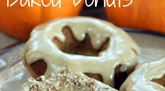 Whole Grain Maple Pumpkin Doughnuts & Muffins | Recipe | Baked Donuts ...