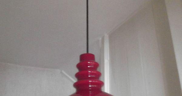 60er 70er jahre space age vintage putzler pendel leuchte for Lampen 70er style