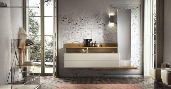ENEA Edone #mobile bagno classico contemporaneo. Le sue caratteristiche: il vetro extrachiaro ...