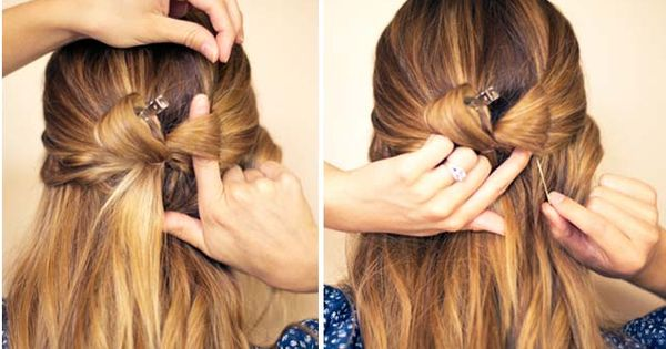 Cute Easy Hairstyle: Hair Bow Tutorial (and 15 other cute hair styles)
