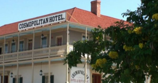 The cosmopolitan hotel in old town san diego is a most for Haunted hotel in san diego
