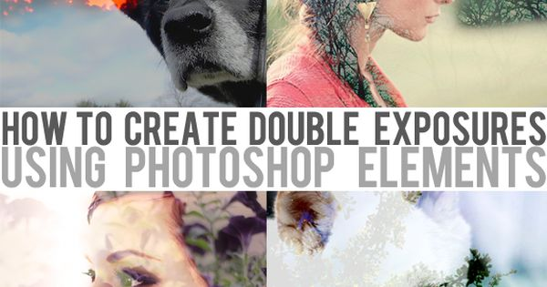 Bubby and Bean ::: Living Creatively: Tutorial Create Artistic Double Exposure Effects