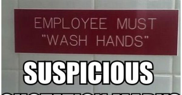 "I searched Pinterest for ""suspicious quotation marks"" and got a pretty good"