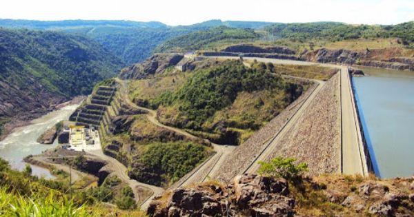 5 Usinas Hidreletricas Da Bacia Do Rio Uruguai O Rio Uruguai Faz A