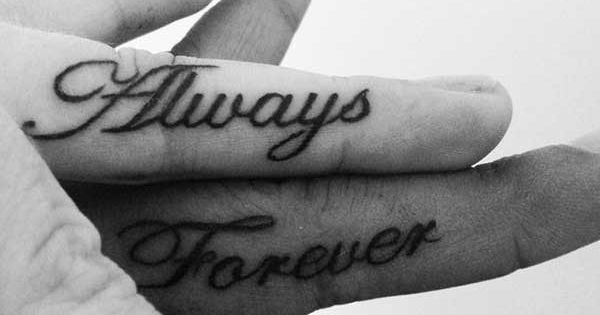 761310d17 Trend alert: 25 funny and creative finger tattoo ideas | Tattoos at ...