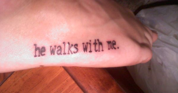 Foot tattoo done by Caitlyn Gagliano at Matt's House Tattoos in BloNo,
