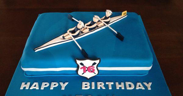 Rowing Boat Cake   Cakes created   Pinterest   Boat cake ...