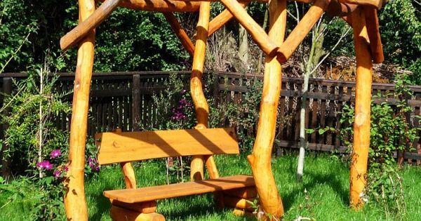 Pergola van boomstammen garden ideas pinterest boomstammen - Kleine tuin zen buiten ...
