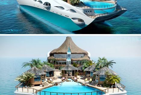 Is this real life?! Private Yacht as Tropical Island Paradise. . .So