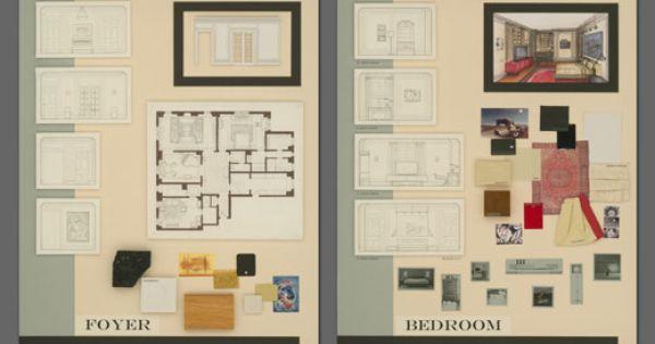 Interior Design Portfolio Designs And Ideas Pinterest
