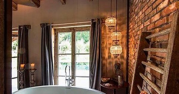 Rustic farmhouse bathroom ideas badezimmer wohnen und for Entspannungsecke einrichten