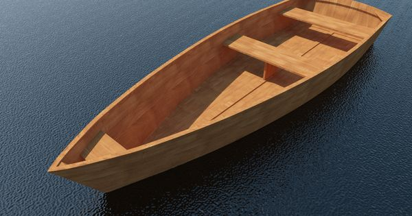 Build Your Own 11 X 3 Wooden Row Boat Diy Plans Fun To