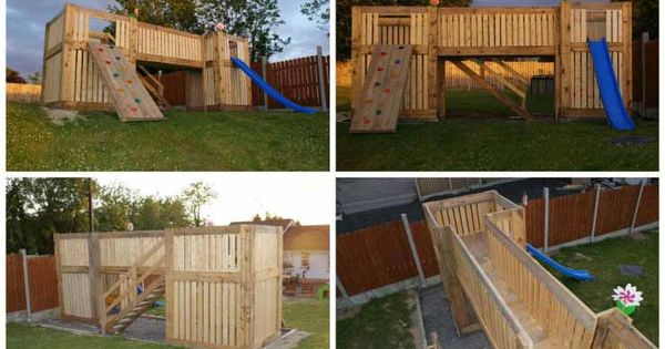 30 Diy Pallet Ideas To Make Garden Play Equipment