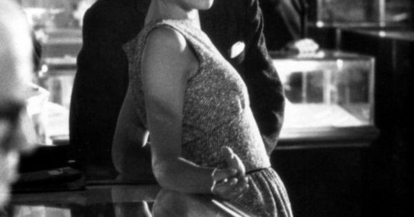 Audrey Hepburn at Tiffany's.