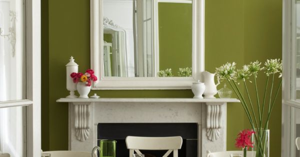 Pretty green and white room interior design pinterest white rooms room and green walls - Pretty green rooms ...