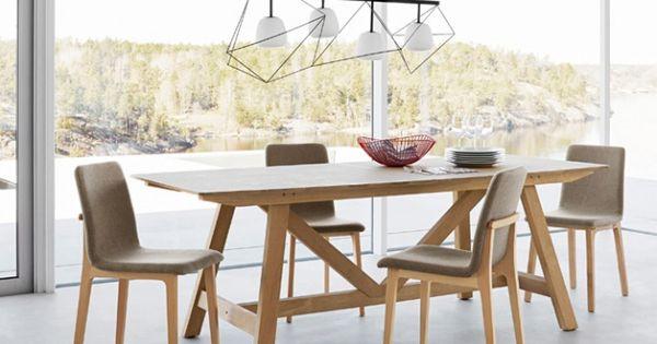 Salle manger luminaire design d co scandinave - Luminaire table a manger ...
