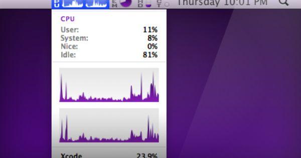 Istat Menus Lets Me Keep An Eye On Network Io Memory Cpu