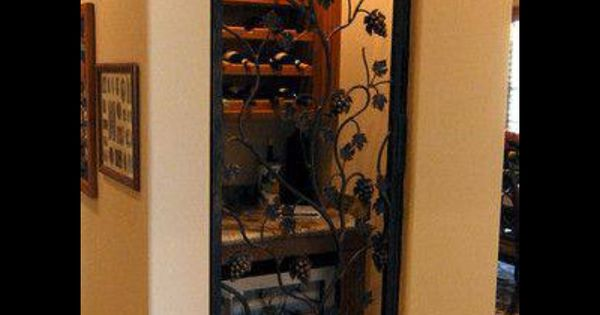 Turn a coat closet or small pantry into a wine cellar Turn closet into wine cellar