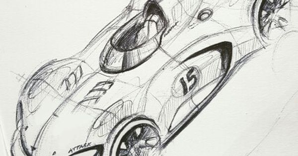 because race car   sketch  sketchdaily  trackday