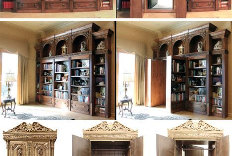 hidden rooms! secret passages! requirements in my dream home!!