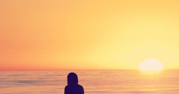 Sunset surf...