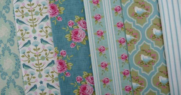 Tilda Winter Bird Folklore Tree Fabric Supplies