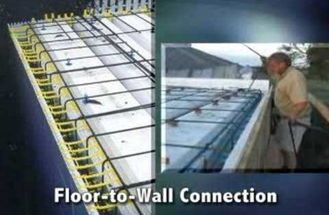 Icf for floors roofs quad deck insulating concrete for Icf concrete roof
