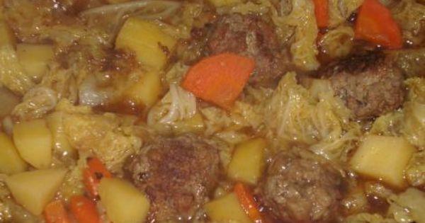 wirsingeintopf mit rinderhackb llchen rezept eint pfe suppen pinterest stew german. Black Bedroom Furniture Sets. Home Design Ideas