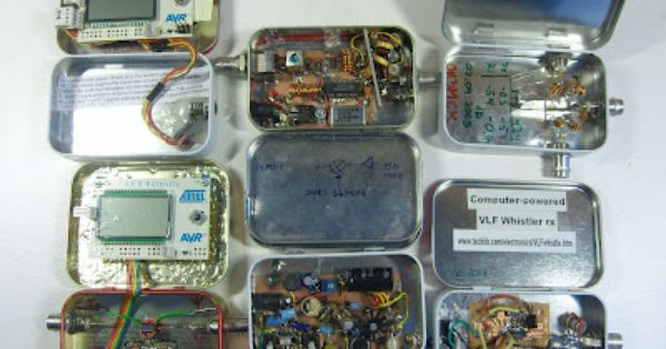 Altoids Projects Electronics Projects Diy Electronics Projects