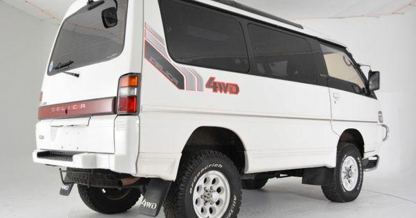 Pin By Pambashe On Mitsubishi Delica Delica Van Wagon