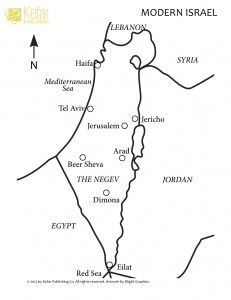 Map Of Israel Coloring Page Jewish Education Maps For Kids
