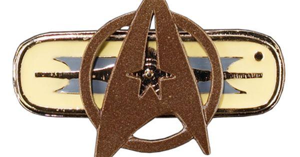 Star Trek:Beyond Starfleet Metal Brooch Badge Accessories Cos Props Golden Color
